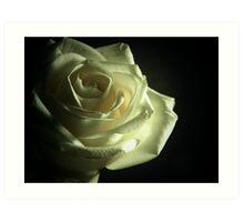 Simplistic Rose  Art Print