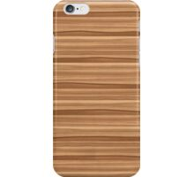 Wood - ash brown iPhone Case/Skin