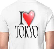 TOKYO, I LOVE TOKYO, Japan, Japanese City,  47 prefectures of Japan Unisex T-Shirt