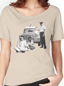Bernie Sanders Civil Rights Protest 1963 Women's Relaxed Fit T-Shirt
