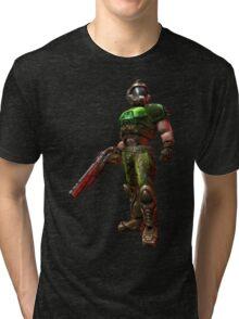 Original Doomguy Tri-blend T-Shirt
