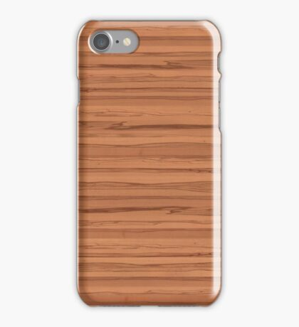 Wood - beech core iPhone Case/Skin