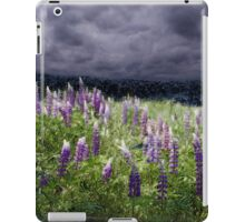 Storm over Lupine iPad Case/Skin