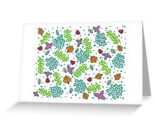 Nature pattern Greeting Card