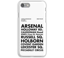 Piccadilly Line in Futura iPhone Case/Skin
