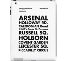Piccadilly Line in Futura iPad Case/Skin