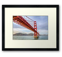 San Francisco California USA, Golden Gate Bridge Framed Print