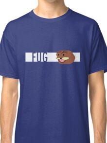 Futuristic Spurdo Fug Logo Classic T-Shirt