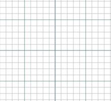 Graph Paper. Sticker