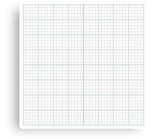 Graph Paper. Canvas Print