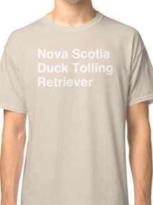 Nova Scotia Duck Tolling Retriever Classic T-Shirt