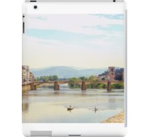 Boating  in Florence iPad Case/Skin