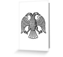 RUSSIA, RUSSIAN, TSAR, Peter the Great, 1917, Republican, coat of arms Greeting Card