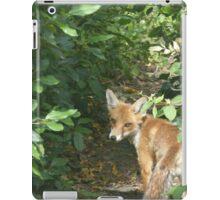 The Curious Fox iPad Case/Skin