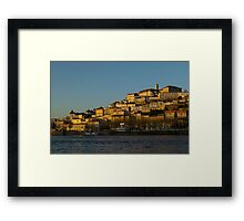 General view of Coimbra Portugal Framed Print