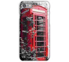 The red booth iPhone Case/Skin