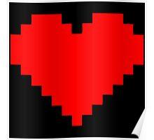 Pixel Heart Poster