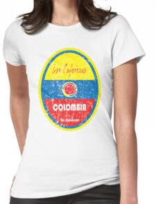 Copa America 2016 - Colombia Womens Fitted T-Shirt