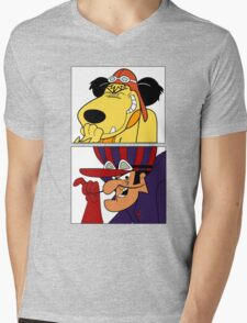 Dastardly & Muttley In Their Flying Machines Cool Stuff Mens V-Neck T-Shirt