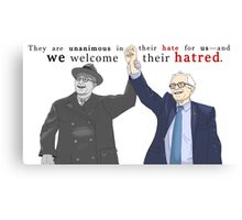 """""""We welcome their hatred."""" 