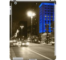 Blue skyscraper iPad Case/Skin