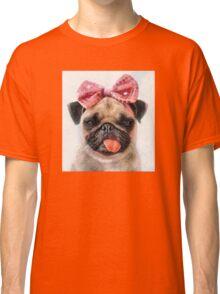 Pug Bleh Crayon Painting Classic T-Shirt