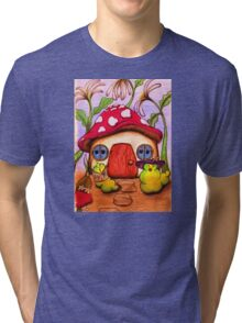 W is for Worms Tri-blend T-Shirt