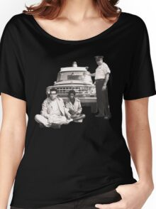 Bernie Sanders Civil Rights Protest 1963 tint Women's Relaxed Fit T-Shirt