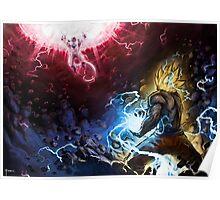 Goku VS Freezer Poster