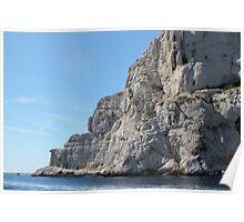 Les Calanques de Marseille, France Poster