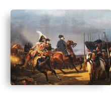 A Napoleonic War At Versailles Canvas Print