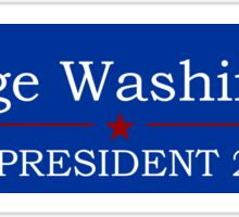 George Washington for President Sticker