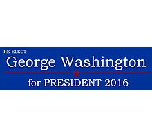 George Washington for President Photographic Print