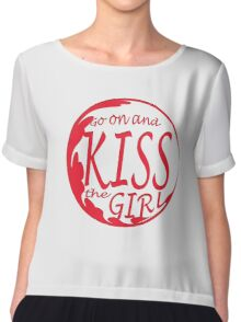 Kiss the girl Chiffon Top