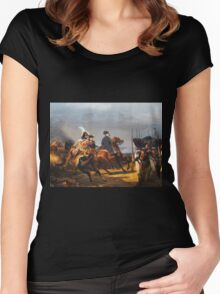 A Napoleonic War At Versailles Women's Fitted Scoop T-Shirt