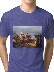 A Napoleonic War At Versailles Tri-blend T-Shirt