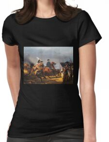A Napoleonic War At Versailles Womens Fitted T-Shirt