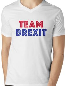 EU vote - Team Brexit Mens V-Neck T-Shirt