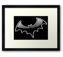 BAT, VAMPIRE, Halloween, Horror, Death, Halloween, 31 October, Hallowe'en, All Saints' Eve, Allhallowtide, Trick, Treat Framed Print