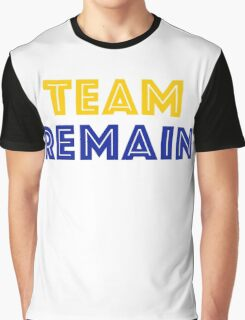 EU Vote - Team Remain Graphic T-Shirt