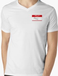 His name... was Phil Mens V-Neck T-Shirt