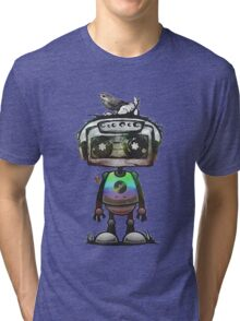 Lonely robot Tri-blend T-Shirt