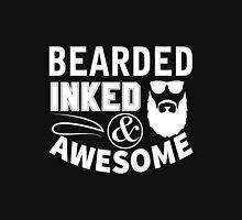 Beard - Bearded Inked Awesome Unisex T-Shirt