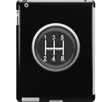 Gear knob, Gear shift knob, Shift, Car, Cars, Motorsport, Motoring, Race, Racing iPad Case/Skin
