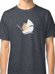 The Onion Knight in Gray Classic T-Shirt