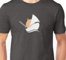 The Onion Knight in Gray Unisex T-Shirt