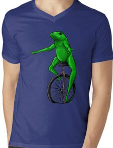 NATURE BOI Mens V-Neck T-Shirt