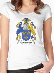Montgomery Coat of Arms / Montgomery Family Crest Women's Fitted Scoop T-Shirt