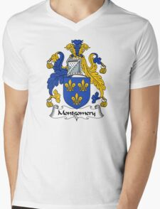 Montgomery Coat of Arms / Montgomery Family Crest Mens V-Neck T-Shirt