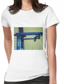 Vintage Train Scale Womens Fitted T-Shirt